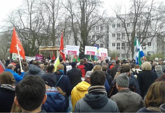 """""""Wir für Menschlichkeit"""" am 19. März 2016 in Bruchsal"""