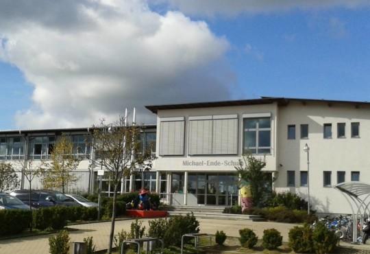 Die Michael Ende-Gemeinschaftsschule in der Schönborn-Allee